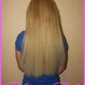 Горячее итальянское наращивание волос