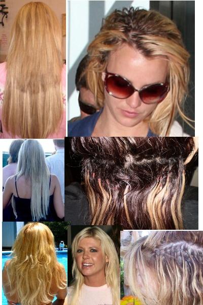 ужасы нарощенных волос фото